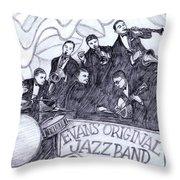 Evans Original Throw Pillow