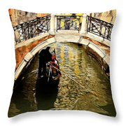 Evanscent - Venice Throw Pillow