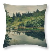 Even After You're Gone Throw Pillow by Laurie Search
