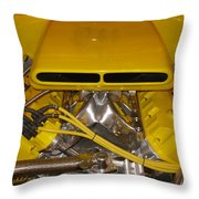 Even Faster Throw Pillow