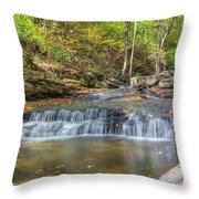 Even Flow Throw Pillow