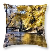 Even In The Quietest Moments Throw Pillow