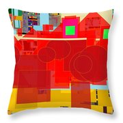 Even Though Yisroel Are Impure The Divine Presence Is Among Them 23a Throw Pillow