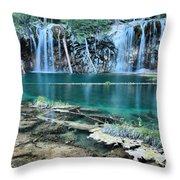 Evening At Hanging Lake Throw Pillow