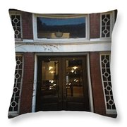 Evening Becomes Throw Pillow