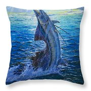 Evening Bite Throw Pillow