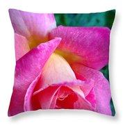 Evening Bloom Throw Pillow