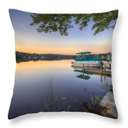 Evening Calm Throw Pillow