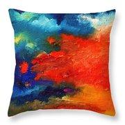 Evening Glow Throw Pillow