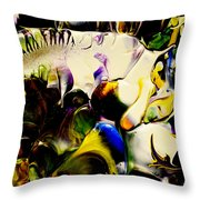 Botanical # 1213 Throw Pillow