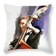 Evening Jazz Throw Pillow