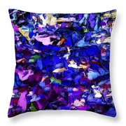 Evening Market Throw Pillow
