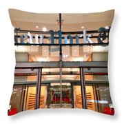 The Evening New York Times Throw Pillow