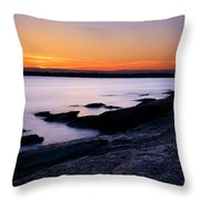 Evening Repose Throw Pillow