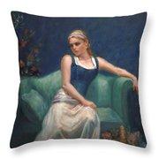 Evening Repose Throw Pillow