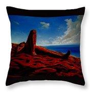 Evening Rest Throw Pillow