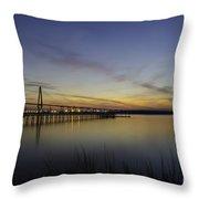 Evening Shades Throw Pillow