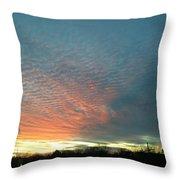 Evening Sky Throw Pillow
