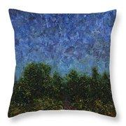 Evening Star Throw Pillow