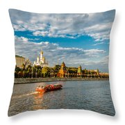 Evening Voyage Throw Pillow