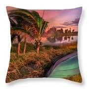 Evening's Kiss Throw Pillow