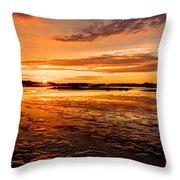 Eventide At Cedar Key Throw Pillow
