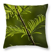 Ever Green Throw Pillow