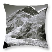 Everest Sunrise Throw Pillow