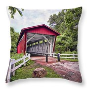 Everett  Bridge Throw Pillow