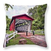 Everett  Bridge Throw Pillow