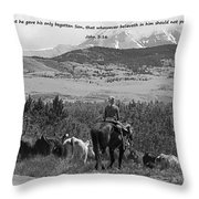 Everlasting Life Throw Pillow