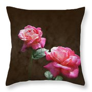 Everlasting Roses Throw Pillow