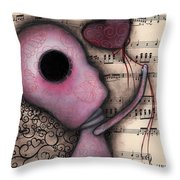 Evermore  Throw Pillow by Abril Andrade Griffith
