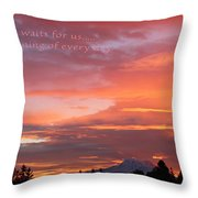 Every Day A Miracle Throw Pillow