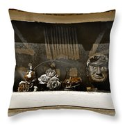 Every Picture Tells A Story Throw Pillow