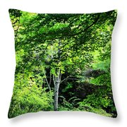 Every Shade Of Green Throw Pillow