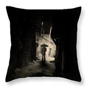 Every Stranger's Eyes Throw Pillow