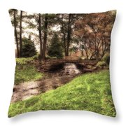 Every Tear Drop Is A Waterfall Throw Pillow