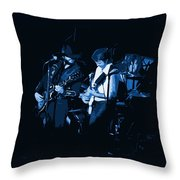 Everyday Blues With Marshall Tucker Throw Pillow