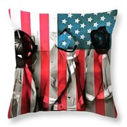 Everyday Heroes Throw Pillow