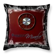 Everyday Miracle - Time - Splash Throw Pillow
