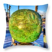 Everyone Is Welcome At The Beach Throw Pillow