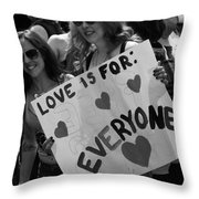 Everyone Throw Pillow