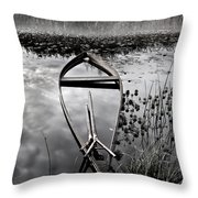 Everything Has Its Time Throw Pillow