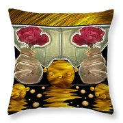 Everything Is In Order In The Universe Pop Art Throw Pillow
