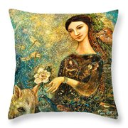 Eve's Orchard Throw Pillow