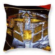 Evil Guitar Throw Pillow