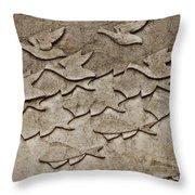 Evolution No. One Throw Pillow