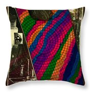 Evolution Of Art Throw Pillow