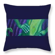Evolve Throw Pillow